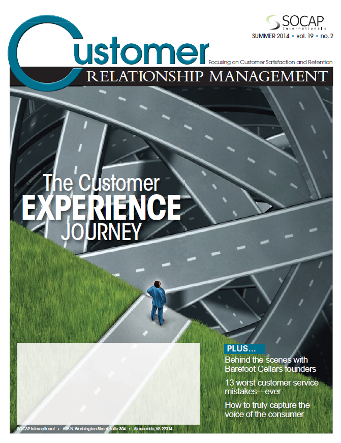 2014 Summer CRM Front Cover