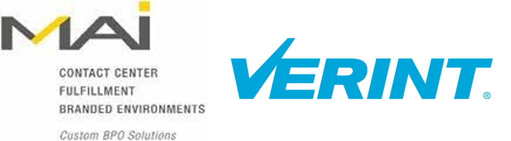 MAI and Verint Logos