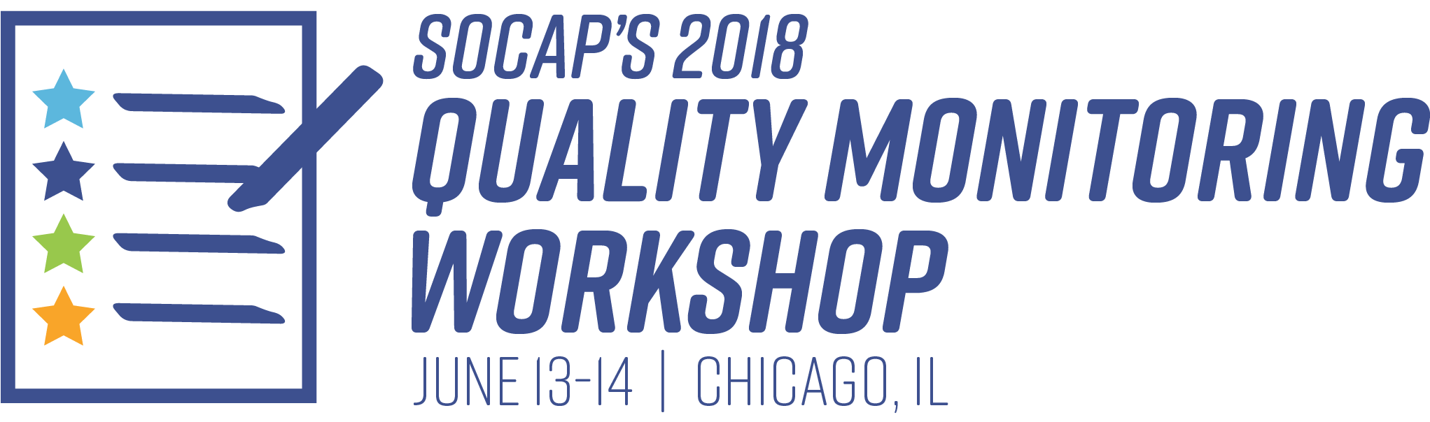 2018 Quality Monitoring Workshop