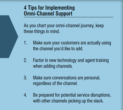 4 tips for implementing omni-channel support