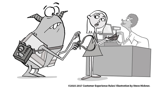 ©2015-2017 Customer Experience Rules! Illustration by Steve Hickner.
