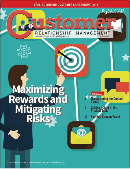 CRM Spring 2019 cover
