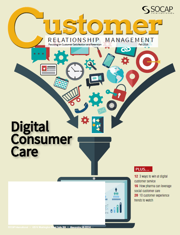 Fall 2016 CRM Magazine Cover